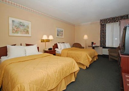 Comfort Inn Room with two double beds